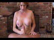 Big boobed cougar in exotic pov suck off vignette