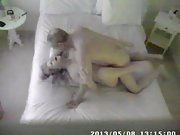 Cheating wife caught smashing on secret camera