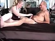 Huge-titted cuckold wifey having sex with a hairy man
