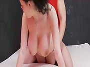 Big natural knocker milf trying anal orgy hoping to make a good porno